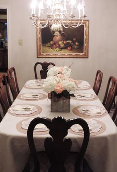 Ashley + Jordan's Wedding Reception | Buying of Supplies, Table Setting, Cutting of Burlap Chargers, Ordering Custom Napkins, Flower Arrangements. | CO #flowerarrangement #flowerarrangement
