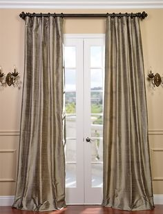 Great prices tons of products you want Half Price Drapes Cashmere Textured Dupioni Silk Curtain Fantastic saving! Get yours today at Dupioni Silk Curtain Hot Deals On Top Brand! Silk Curtains, Panel Curtains, Curtain Panels, Window Panels, Velvet Drapes, Window Coverings, Window Treatments, 96 Inch Curtains, Cama Box
