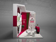 Exhibition stand LSR GXgroup on Behance Exhibition Stall Design, Exhibition Ideas, Exhibition Stands, Web Banner Design, Stand Design, Design Art, Interior Design, Malboro, Motion Design