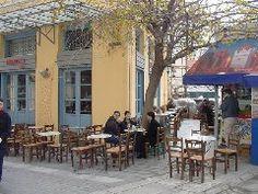 Cafe Dioscouri in Monastiraki Athens Greece, Coffee Shops, Restaurants, Nostalgia, Memories, Eyes, Amazing, Places, Outdoor Decor