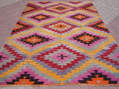Custom Size Kilim Rug Design for Home Flooring Decor: Discount Kilim Rugs | Kilim Rug | Overstock Kilim Rug