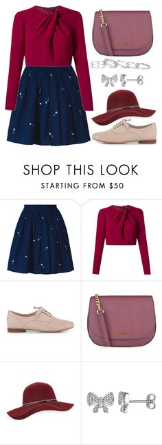 """""""Destroying the Patriarchy"""" by staysaneinsideinsanity ❤ liked on Polyvore featuring Anouki, Andrea Marques, Clarks, MICHAEL Michael Kors, San Diego Hat Co., Laura Ashley and Kendra Scott"""