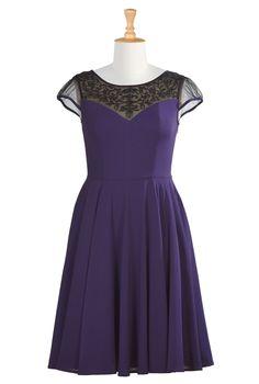 Grace Dresses, Polyester Stretch Crepe Dresses Shop women's designer dress: Women's stylish dress, Missy, Plus, Petite, Tall, 1X, 2X, 3X, 4X, 5X, 6X - | eShakti