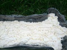 how to make an easy foam, lightweight torso Halloween prop