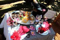 The Briel engagement table setting