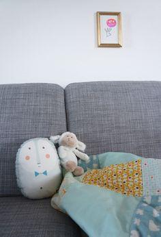 DIY Einfache Babydecke nähen