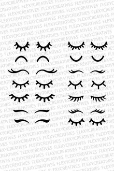 Eyelashes svg eyelashes unicorn vector clipart cut file eyelashes clip art cricut eyelashes s Wimpern SVG, Wimpern Einhorn Vektor, Clipart, Date… Ideas for embroidery eyes for stuffed animals 30 Stunning Open Storage Room Suggestions For Advanced Home E Doll Eyes, Doll Face, Cricut, Felt Crafts, Diy And Crafts, Fabric Crafts, Unicorn Birthday, Birthday Kids, Fabric Dolls