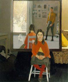 The Mirror — Fairfield Porter