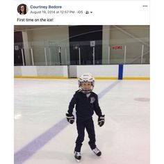 My Facebook work account reminded me today that 5 years ago Cohen went on the ice for the first time to learn to skate.  Its crazy that less than 5 years ago he couldnt even skate and definitely didnt know how to play hockey.  And now hes entering his second year on the Red Devils.  Amazing progress @cohen.bedore29 ! Then And Now, 5 Years, First Time, Hockey, Skate, Behind The Scenes, To Go, Ice, Play