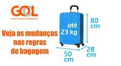 Entenda as novas regras de bagagem GOL #gol #bagagens #regras #aviação #viagens #passagens #voos #notícias #dicas