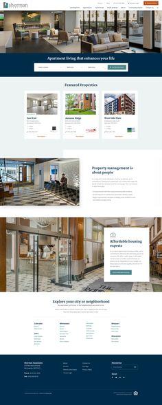 Elegant Home Builder Website Design By: Mike Delsing   Design Inspiration   Design,  Web Design, Website