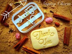 A Cookie cutter with a message in it. Thank You Cookie Cutter from Sugary Charm at cheap price. Get it shipped free with orders above $25. Order Now!