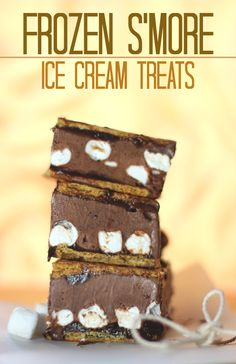 Celebrate National S'mores Day with S'more Ice Cream Treats