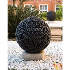 river-stone-sphere