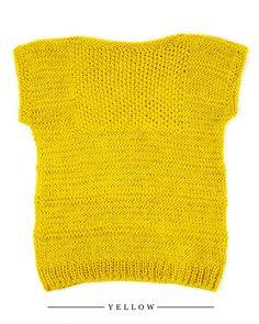 Summer Knit Tshirt by WAK | Hippie Bohemian Style | weareknitters.com
