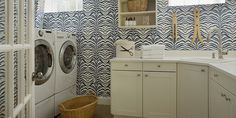 31 Best Arrangement for Your Narrow Laundry Room – Laundry Room İdeas 2020 Decor, Home, Narrow Laundry Room, White Cabinetry, House, Farmhouse Laundry Room, Room Makeover, Utility Rooms, Room Design