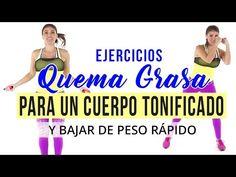 Adelgaza sin ir al gimnasio - Ejercicios intensos para bajar de peso y quemar 300 calorías - YouTube