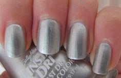 Silver Sweep, Sally Hansen Insta-Dri