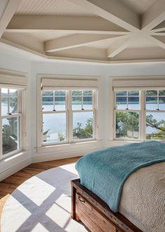 House of Turquoise: Martha's Vineyard Interior Design - Amazing bedroom.