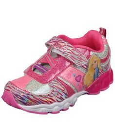 a9a96bcd108 She ll look great and run faster in these Barbie sneakers youth size 11  medium