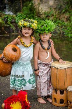 Hawaiian children