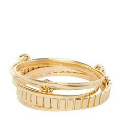gold bracelet set