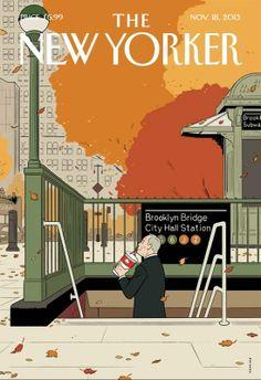 Portada de la revista The New Yorker de noviembre de 2013, despidiendo al Alcalde Bloomberg. El Alcalde salubrista...