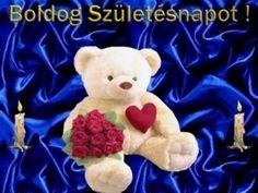Szülinap Happy Birthday, Teddy Bear, Toys, Animals, Happy Brithday, Activity Toys, Animales, Animaux, Urari La Multi Ani