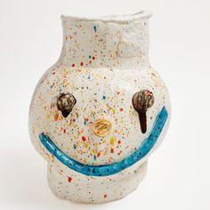"Dan McCarthy on Instagram: ""Gum Ball. 2021 Clay, glaze, gold lustre 16""h x 13- 1/4""w x 14- 1/4""d"" Ceramic Artists, Luster, Glaze, Ceramics, Gold, Decor, Enamel, Ceramica, Pottery"