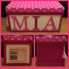 Personalised toy/activity box SpecialKeepsake