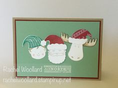 Jolly Friends and Greetings from Santa form Stampin Up Holiday Catalogue, Sept…