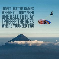 We loved this quote! #Paragliding #ExtremeSports