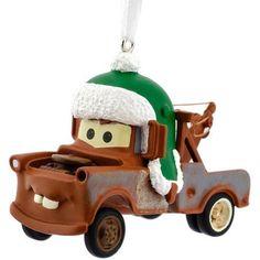 Hallmark Disney Cars Tow Mater Ornament, Multicolor
