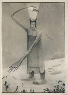 Alfred Kubin - SIBERIAN FAIRY TALE, c. 1901/02