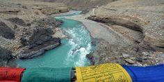 Zanskar river. Ladakh