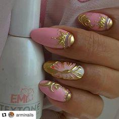 Fabulous Nails, Gorgeous Nails, Pretty Nails, Bling Nails, 3d Nails, Acrylic Nails, Elegant Nail Designs, Nail Art Designs, Diy Sharpie