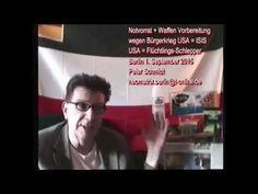 Notvorrat Waffen Vorbereitung US = IS + US = Flucht-Schlepper Peter Schm...
