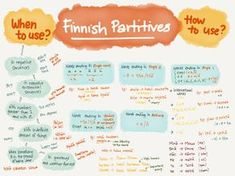 Finnish is not the easiest language to learn, but it is pretty logical. The best way to learn a language is to have proper motivations. Such as you have no choice because your survival depends on i… Finnish Grammar, Finnish Words, Finnish Language, Foreign Language, Learn Finnish, Negative Words, Language Study, Single Words, English Lessons