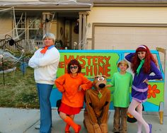 Scooby Too Family Costumes