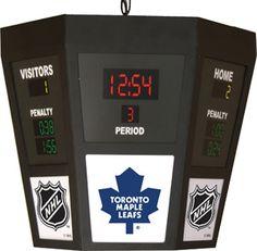Toronto Maple Leafs Octagon Scoreboard Light