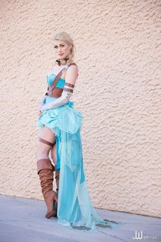 "10295779_822426707787441_8198266796322535050_n Frozen Steampunk ""Elsa"" costume = wicked awesome"