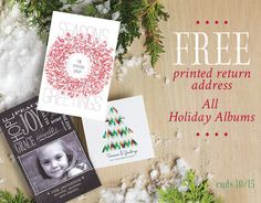 With the holiday season quickly approaching, now is the time to begin brainstorming ideas for your holiday cards!