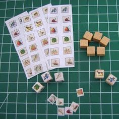 how to: baby blocks (link to printable:   http://graphicsfairy.blogspot.com/search/label/Games%20and%20Cards)