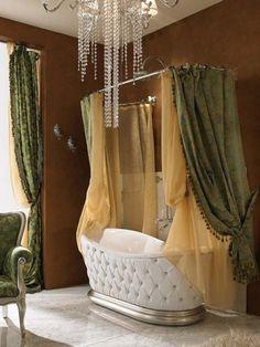 Neo Classic Bathroom Interior Design by Lineatre (6)