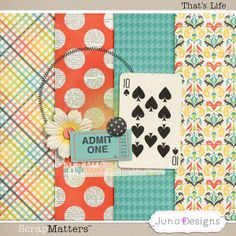 Freebie by Juno Designs for May 2013.