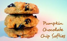 Pumpkin Chocolate Chip Cookies using Carbquick