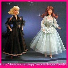 Chá de Bonecas com Gigi Fernandes: Boneca Barbie, Estrela, 1982