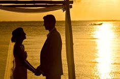 Destination wedding at Zama Beach Club - Isla Mujeres, Mexico by Photographer Jeff Cooke - Full Post: http://www.brideswithoutborders.com/inspiration/beach-wedding-in-mexico-by-jeff-cooke-photography