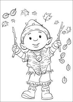 Desenhos para colorir Rupert 10