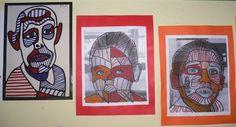Ecole maternelle Barbier - Grands : à la manière de Dubuffet Projects For Kids, Art Projects, Reds Bbq, Hate Cats, Artist Project, Bbq Apron, Grilling Gifts, Ecole Art, Art Plastique